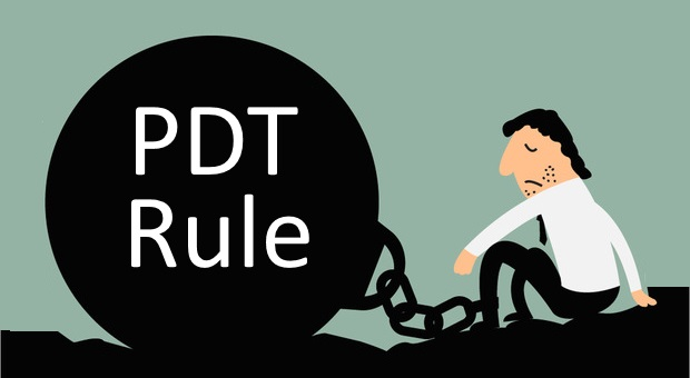 Learn how to work around the pdt rule